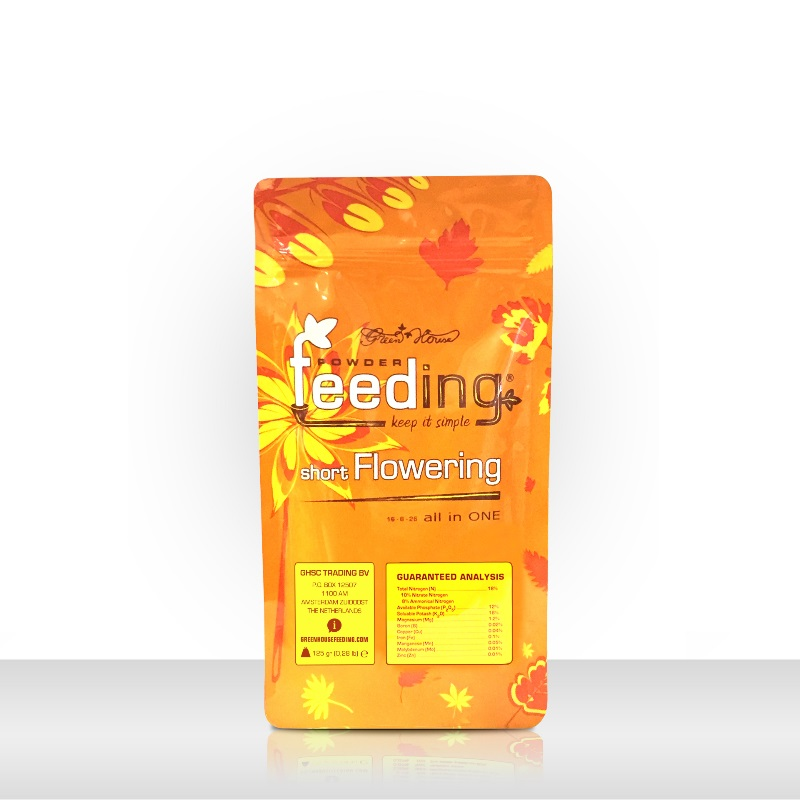 Изображение Удобрение Powder Feeding Short Flowering 0.125 kg в магазине Growvit.ru